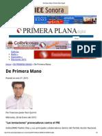 27-01-15 Columna de Ruiz Quirrin