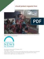 UN Sri Lanka Should Protect Migrants From Abuse