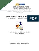 Cuadernillo Primaria 2013