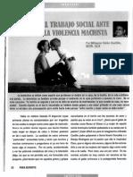 Prof. Delza Canto SOWO 330 R 5:30 p.m.La Violencia Social Ante La Violencia Machista