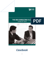 ISB 2010 Consulting Case Book and Sample Resume