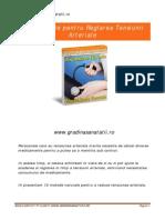 eBook 14 - Reglarea Tensiunii Arteriale Prin Metode Eficiente