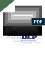 El uso de las tics en psicología industrial