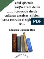 Abedul _(Betula verrucosa_)Se t - Eduardo Chamizo Ruiz.epub