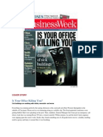article - is your office killing you - business week cover story