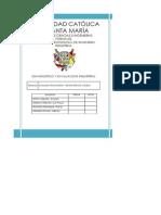 Analisis Financiero Gloria s.a.