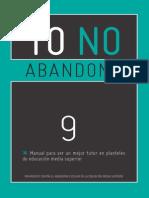 Yo no abandono Manual 9