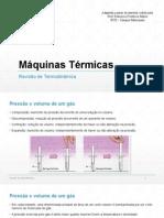 Máquinas Térmicas 01 - Revisão de Termodinâmica