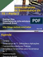 Governanca de TI - Parte 1