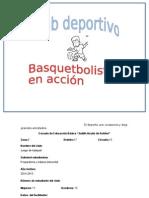 Proyecto Del Club de Basquet
