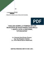 Análisis de la Pobreza en los municipios de Totonicapán.doc