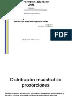 Distribucion Muestral de Proporciones
