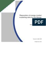 Energy Market Modelling