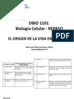 Unidad I y II. El origen de la vida en la tierra REPASO.pdf