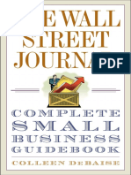 The Wall Street Journal Complete Small Business Guide by Colleen DeBaise - Excerpt