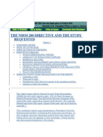 DEPOPULATION - THE Nssm 200 DIRECTIVES AND THE STUDY  REQUESTED