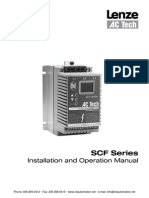 AC Tech SCF Drives Installation Operation Manual PDF