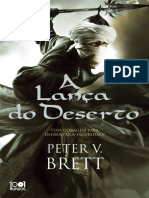 A Lanca Do Deserto - Peter v. Brett