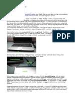 Cara Memperbaiki Laptop Blank
