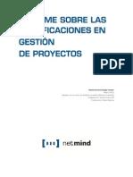 Informe Sobre Las Certificaciones en Gestion de Proyectos