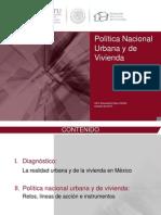 (SEDATU) Politica Nacional Urbana y de Vivienda