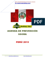 Agenda de Prevención Ssoma 2015 Peru