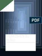 Sismos en El Perú
