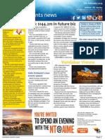 Business Events News for Fri 06 Feb 2015 - ACB