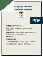 Reconocimiento de Rostro(Algoritmo PCA)