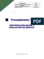 Procedimiento 1 SGSSA Identificaciòn y Evaluaciòn de Riesgos Neymer 2013