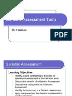 Geriatric Assessment Tools