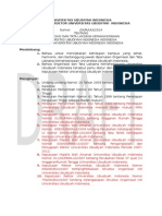 Contoh SK Pembentukan BEM (OSHA)