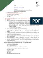 Application.checklist Berlin