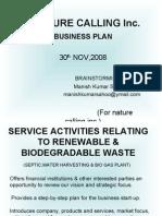 Nature Calling Business Plan