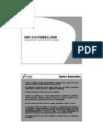 NRF-210-2008 Rev 0