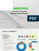 Consumer Sharing Trends Report (2014 Q4)