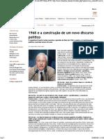 1968 e a Construção de Um Novo Discurso Político [Revista IHU Online #250]