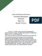 Arab and Muslims Americans.docxweekfour