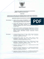 Kepmenkes 989 Thn 2007 Penetapan Tarif Kelas III Rs Berdasarkan Ina-drg