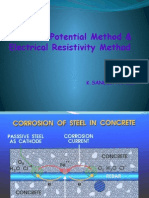 Half-cell Potential Method & Resistivity Method