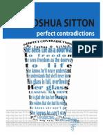 Perfect Contradictions - Joshua Sitton