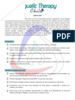 Información Aquatic Therapy Chile 2014
