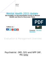 Mental Health 2015 Update