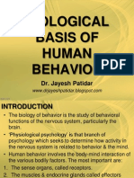 Biological Basis of Human Behavior