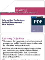 Chapter 12 Project Procurement Management