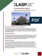 Fact Sheet 1 Small Wind Dec 2011 FINAL