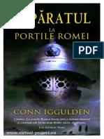 Conn Iggulden - Imparatul vol. 1 - La portile Romei.pdf