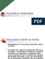 Impuestos Federales
