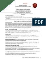 Practicum Guidelines Vsba
