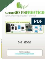 kit solar fotovoltaico
